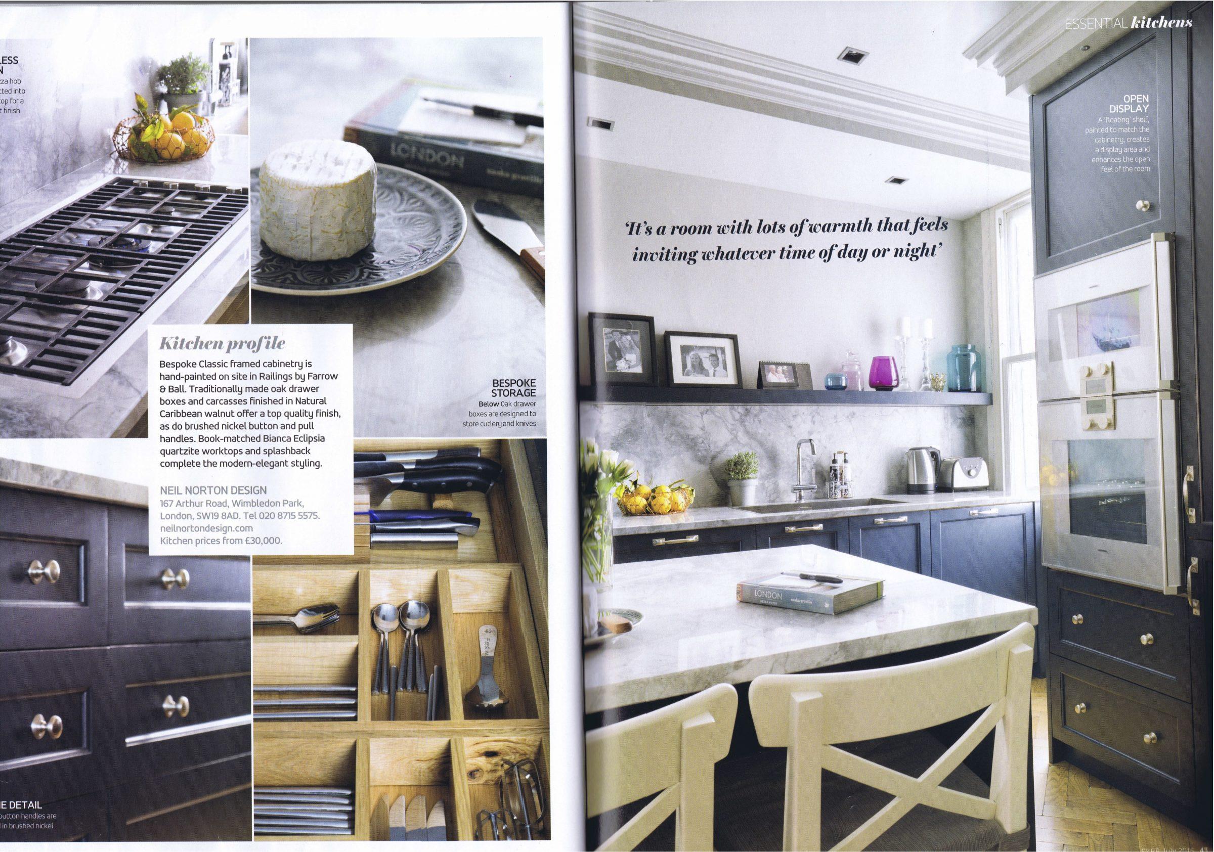 Essential Kitchen Bathroom Bedroom magazine
