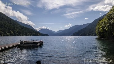 View of Crescent Lake