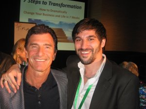 T. Harv Eker & Neil Sargisian at the 7 Steps To Launch Conference in Las Vegas, 2010