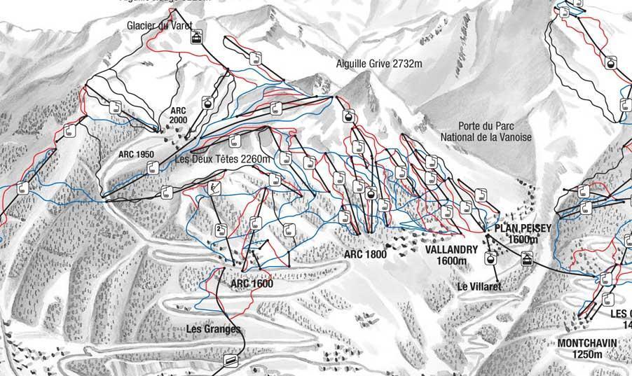 La Airports Map Around