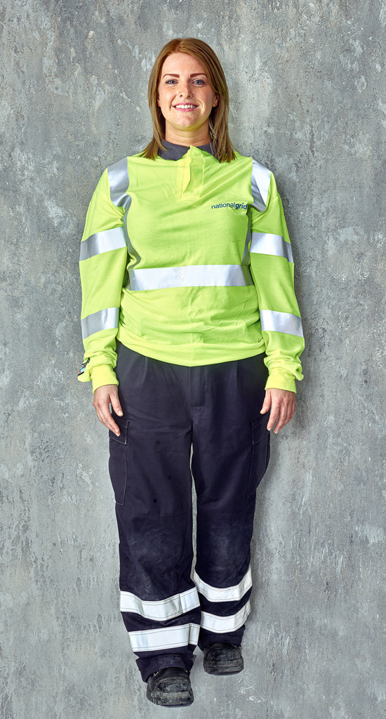 Portraits of People in Personal Protective Equipment Balfour Beatty  Neilson Reeves Photography