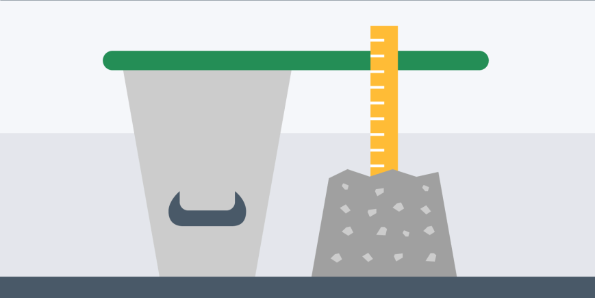 The concrete compacting factor test