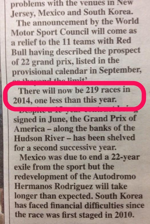 219 Race