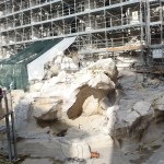 Italy 2014 – Day 2 – The Trevi Scaffolding