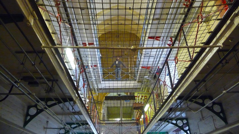 Inside of Reading Gaol