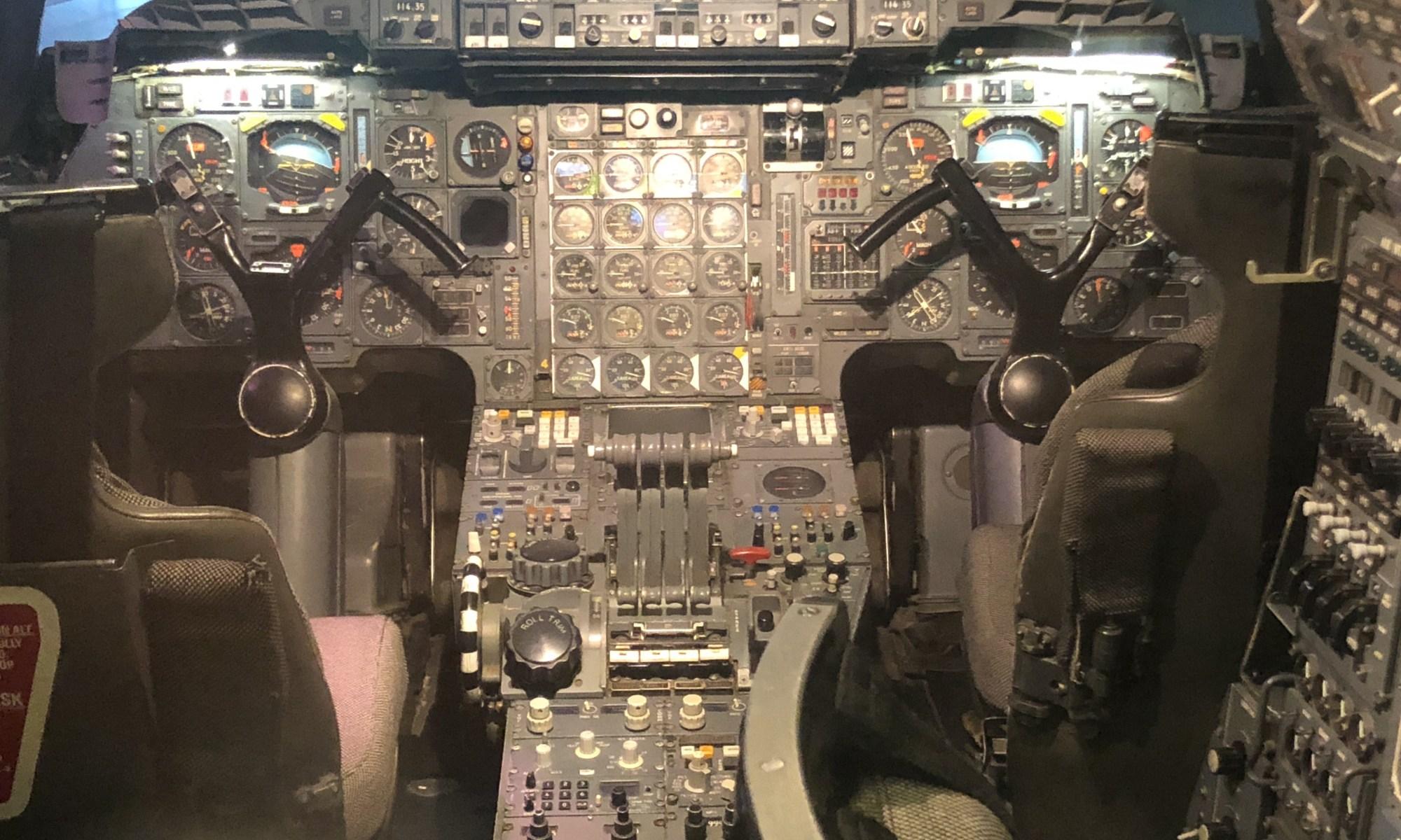 Flight Deck of Concorde