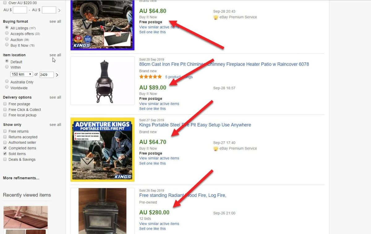 What Sold on eBay This Week