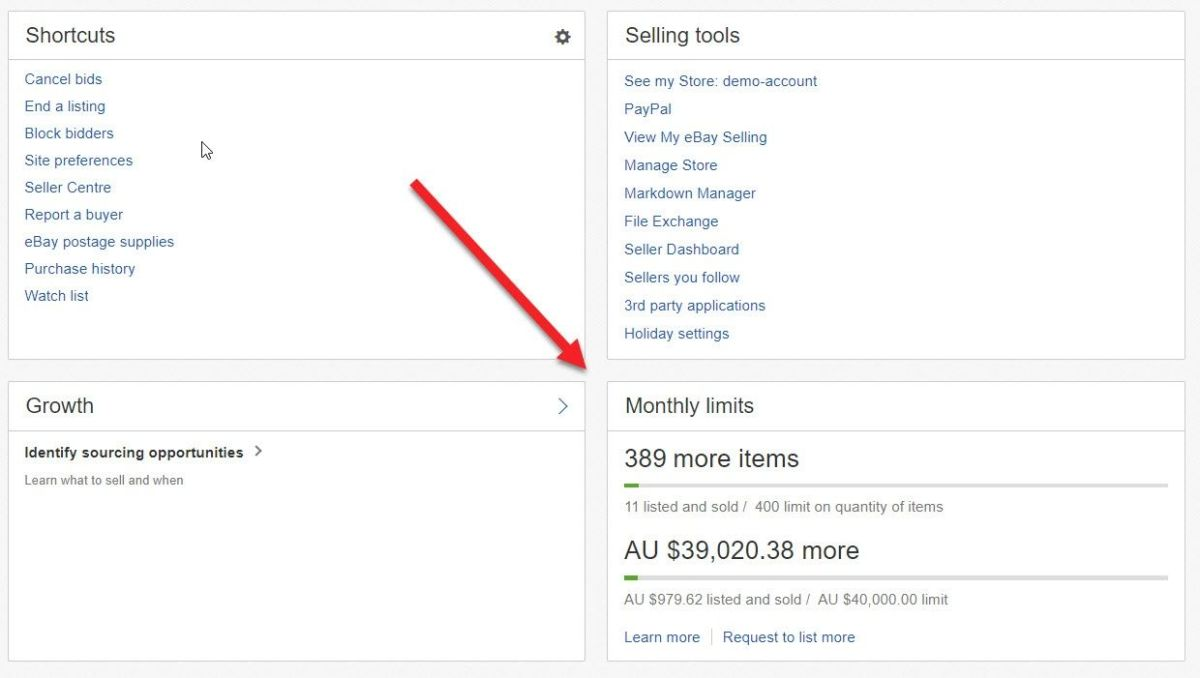 How To Increase Your Selling Limits On eBay