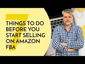 Things to do Before you Start Selling