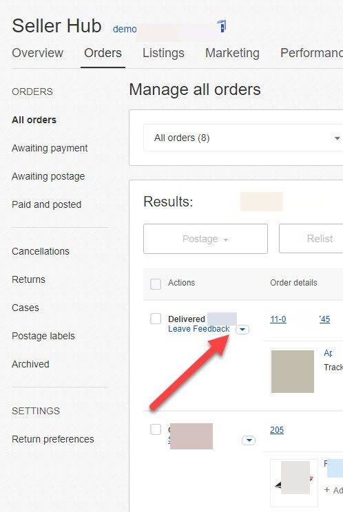 how find ebay buyers email address