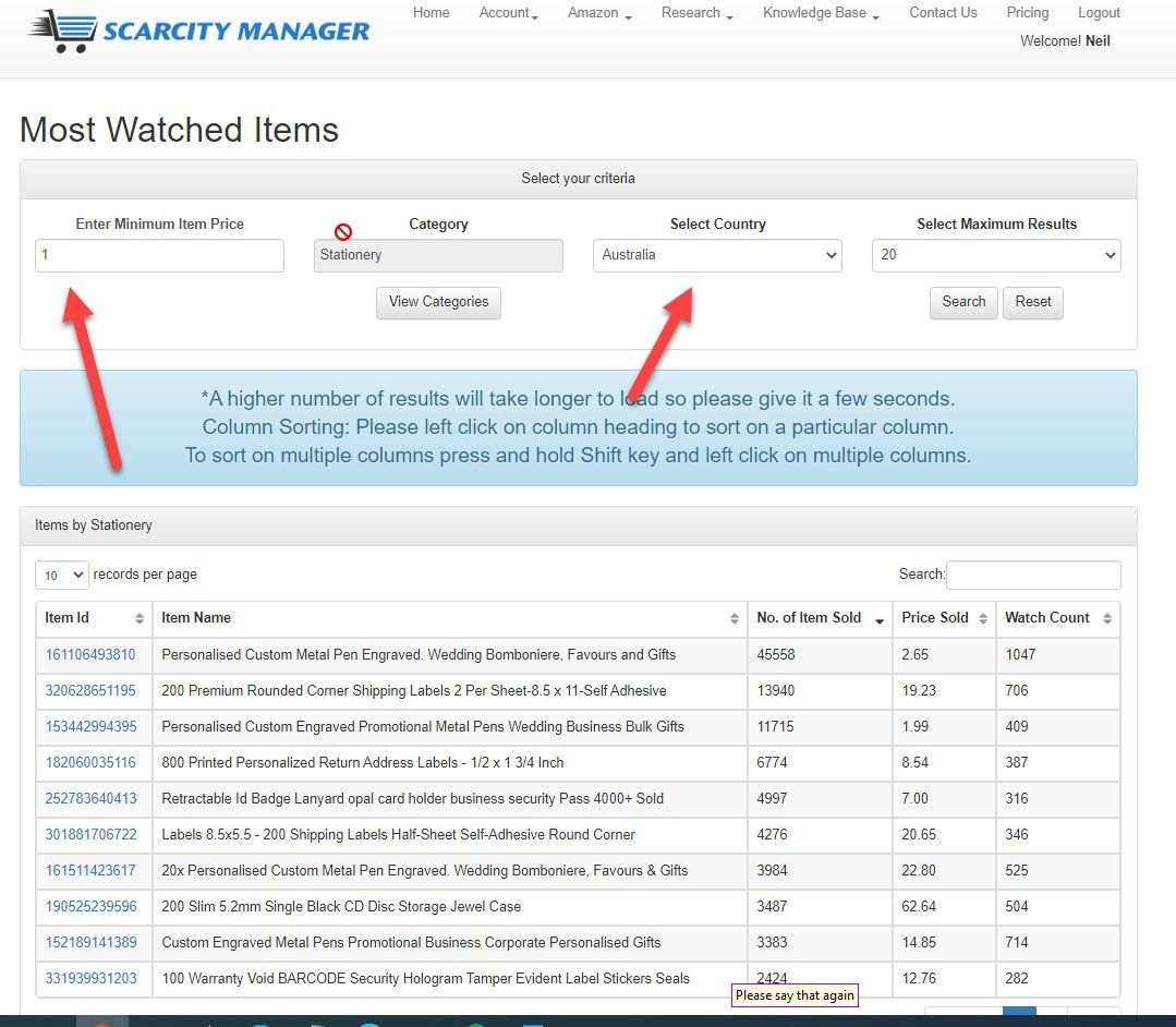 SCARITY Manager