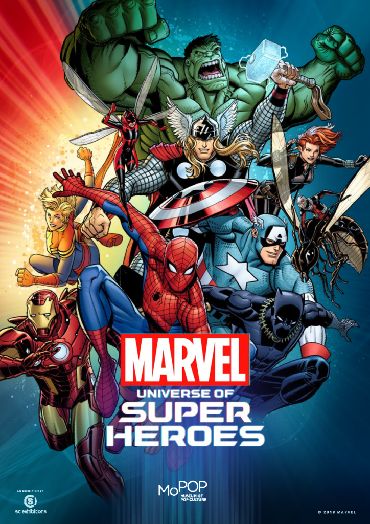 marvel universe of super