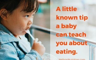 The Simple Secret a Baby Can Teach You About Eating