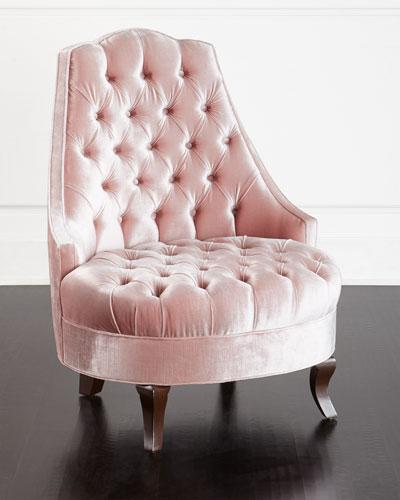 velvet tufted chair hanging northern ireland neiman marcus quick look haute house emily