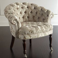 Tufted Nailhead Chair Hotel Chairs Trim Neiman Marcus Quick Look Haute House Taupe Sausalito