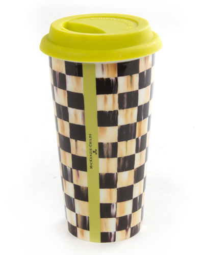 Courtly Check Travel Cup