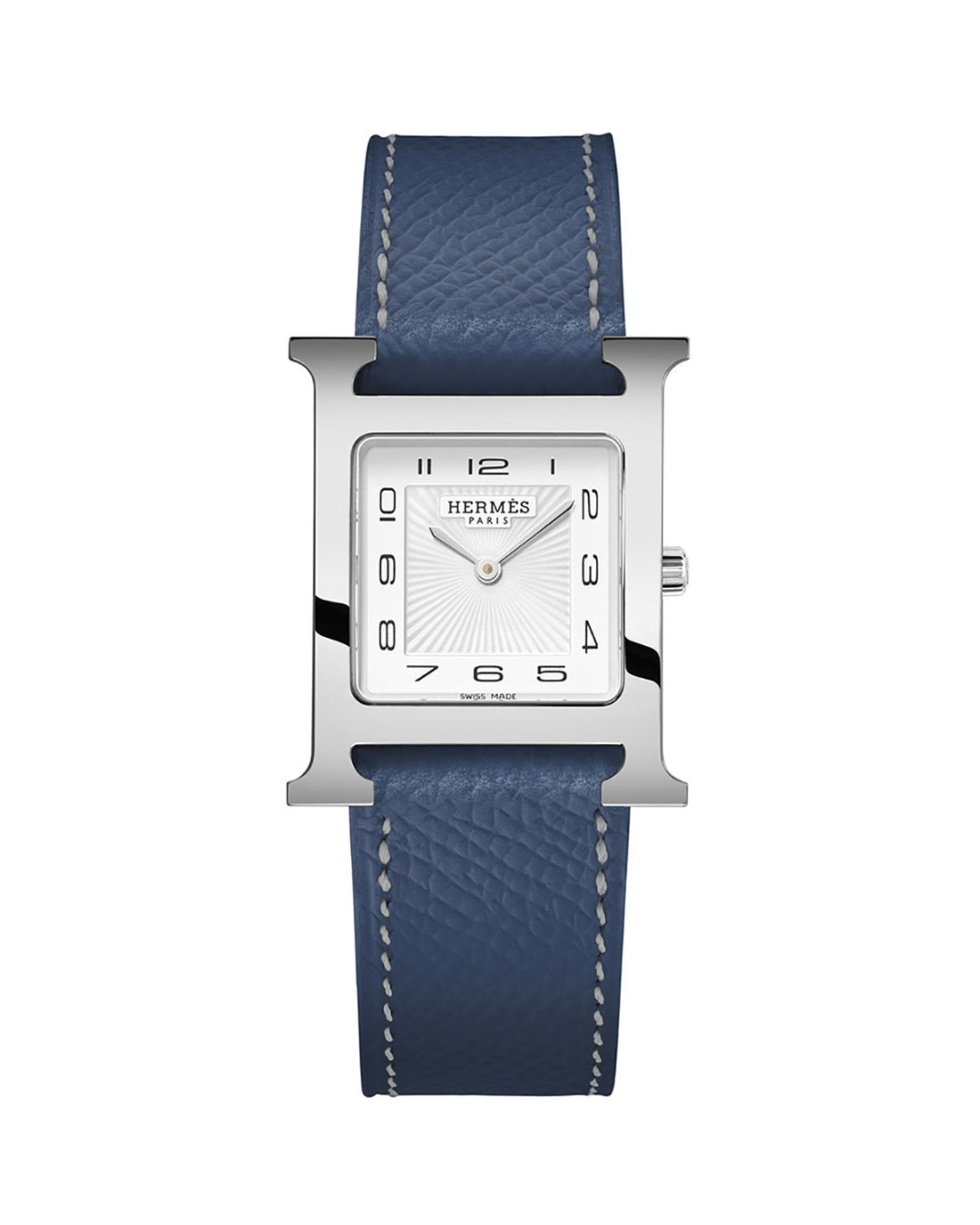 b7614f75af ... $2,825.00 – Hermès – Heure H PM Watch with Orange Leather Strap –  Neiman Marcus – $2,825.00