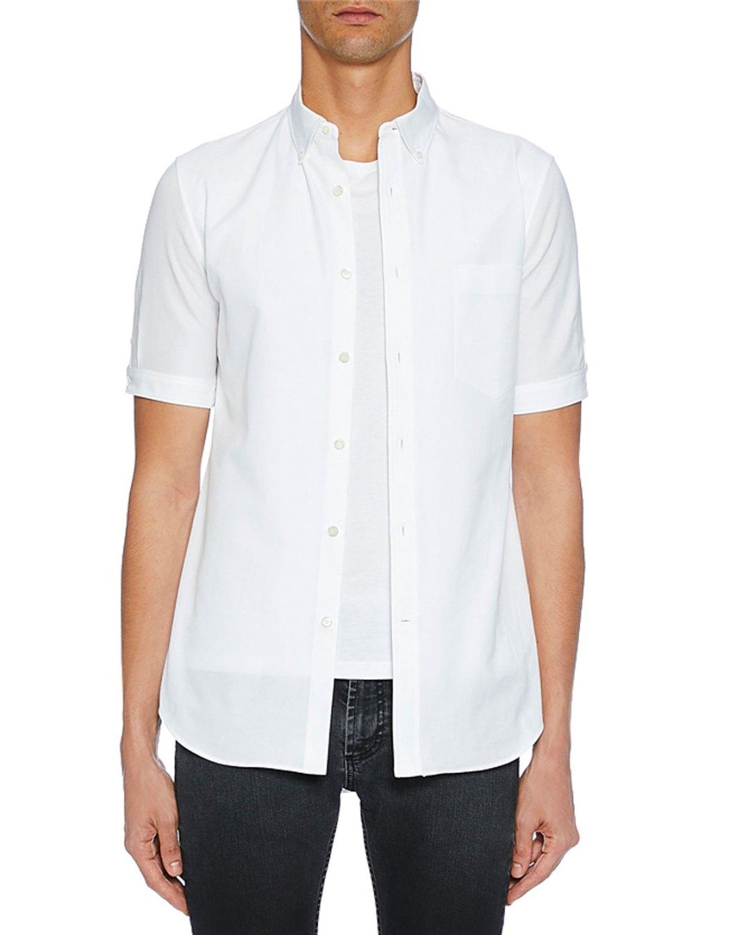 5f3a143531d Neiman Marcus – Men s Short-Sleeve Button-Up Shirt –  665.00