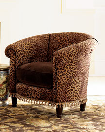 cowhide print accent chair best lower back support for office leopard chairs | home decor