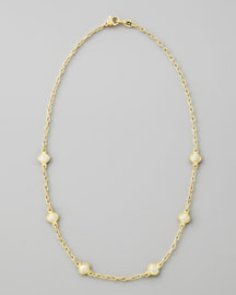Judith Ripka Flame Chain Necklace