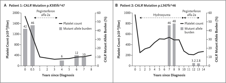 Interferon Alfa Therapy in CALR-Mutated Essential