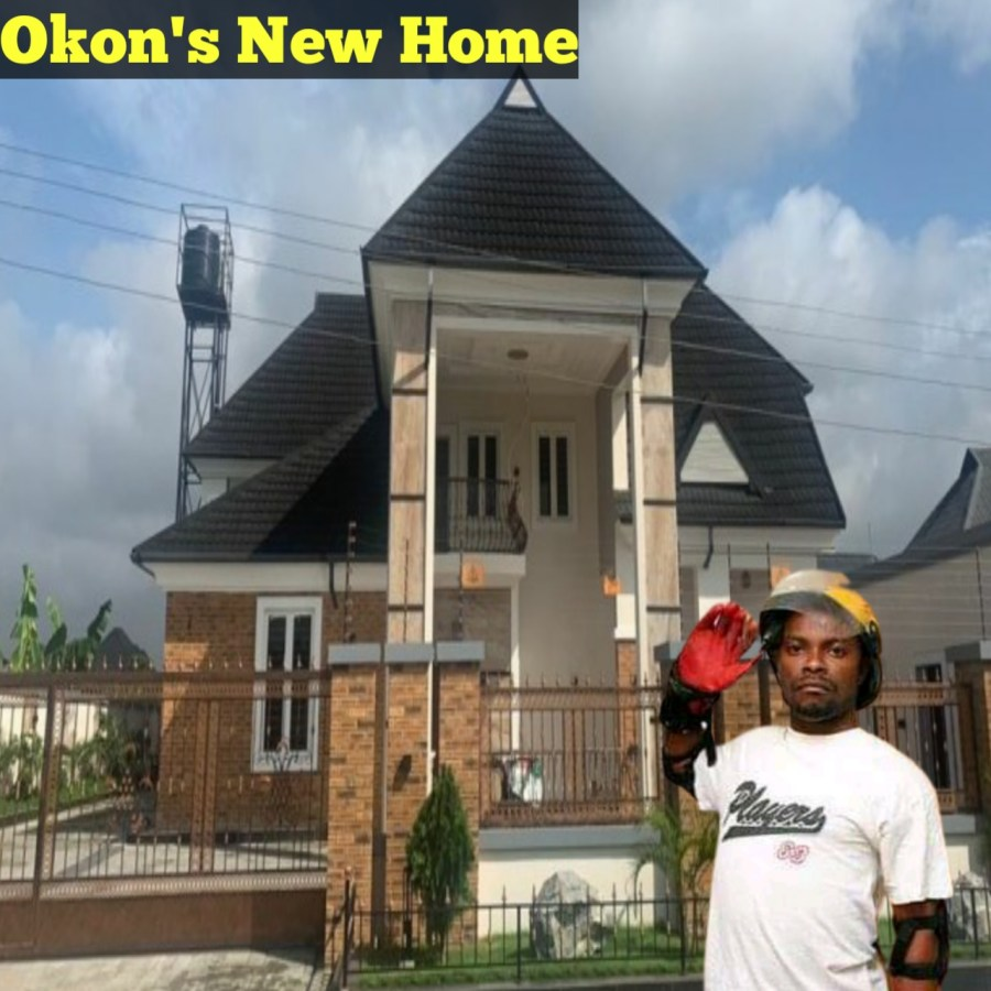 What Okon Lagos Said After Building His Mansion