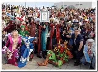 Record mondial de cosplay à Londres ! Guiness 2008