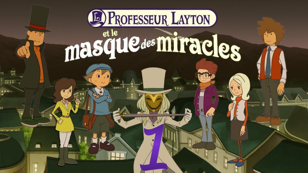 Professeur Layton et le Masque des Miracles : vidéo