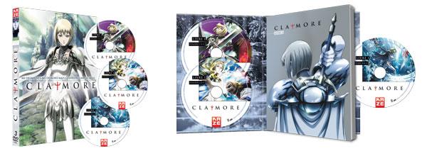 «Claymore» en DVD