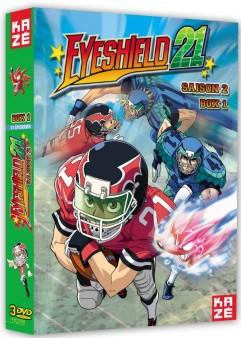 «Eye Shield 21» saison 2 en DVD