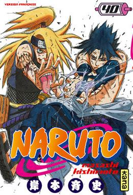 Naruto Vol.40 – Deidara Vs Sasuke !