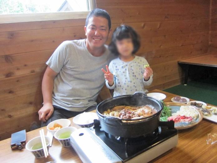 オーレン小屋名物桜鍋
