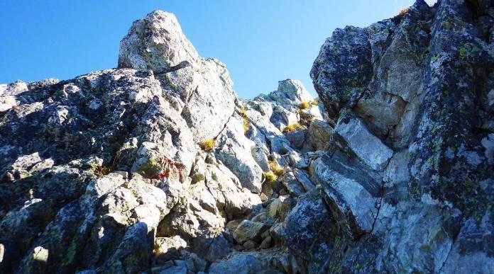 雄山への登り