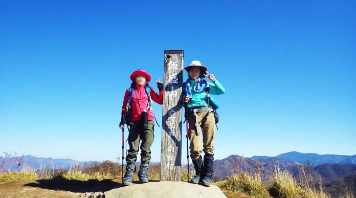 飯盛山山頂