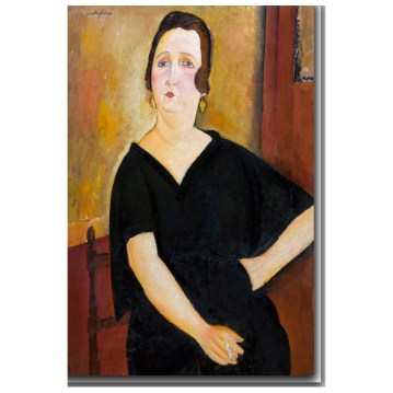 Amedeo Modigliani, Madame Amédée (Woman with Cigarette), Italian, 1884 - 1920, 1918, oil on canvas, Chester Dale Collection