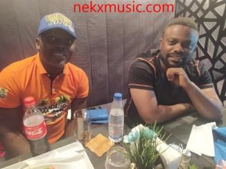 imeh bishop and K.O baba hangout