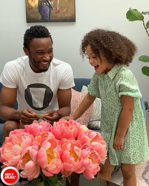 Mikel Obi and daughter