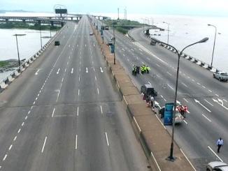 Mainland bridge shutdown