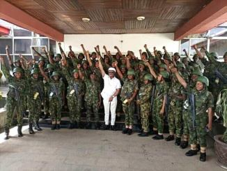 female soldiers deployed to anambra 3
