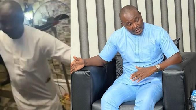 "Akin Alabi explains why he sprayed ""only N9k"" at Obi Cubana' mum's funeral"