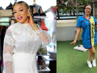 """""""If you cannot handle being a step-mom to a Man's kids, please DO NOT MARRY HIM"""" - Tonto Dikeh"""