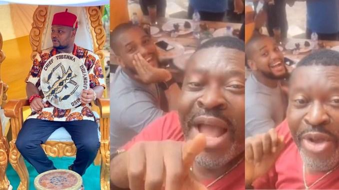 """Joke taken too far"" – Writer, Tobenna Obiano slams Kanayo O. Kanayo and Alex Ekubo for their joke about ladies attending Obi Cubana's mother's burial"