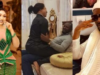 """Blessed are you among women"" – Tonto Dikeh's lover, Prince Kpokpogri celebrates her, she replies"