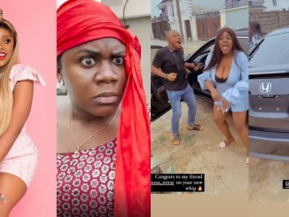 Nigerian IG comedienne, Ada Jesus acquires new Honda Cross Tour SUV (Video)