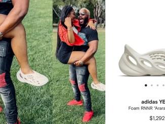BBNaija's Lilo replies Twitter user questioning the originality of her Yeezy sneakers with receipt of over $1000