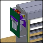 3D CAD model of the Nelevator design