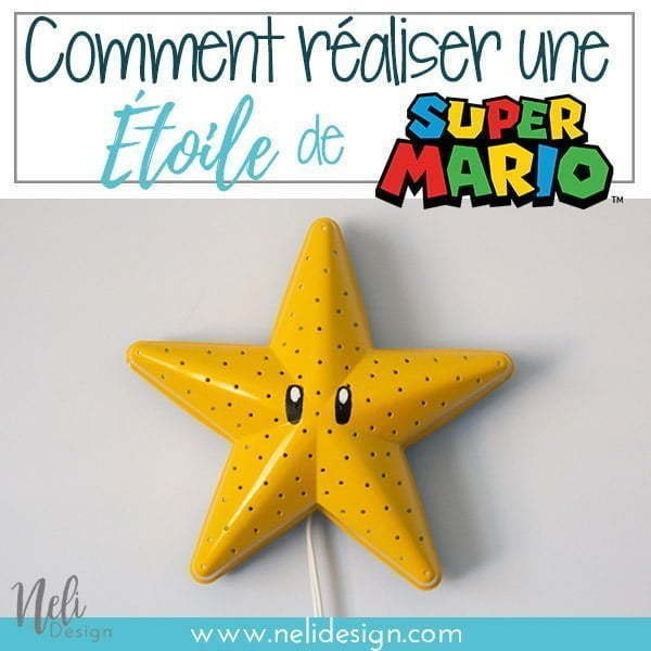 Comment Transformer Une Lampe Ikea En Etoile De Super Mario Bros