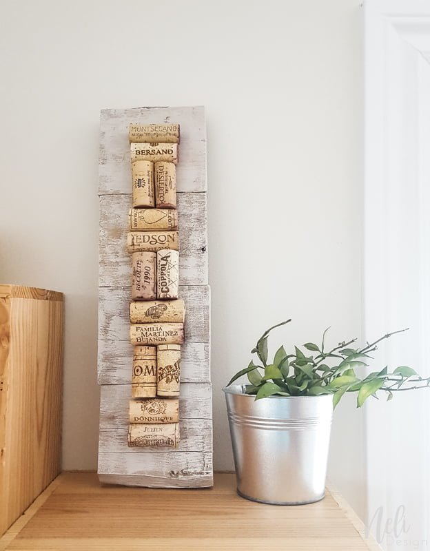 Wine cork wall art Decorate your dinning