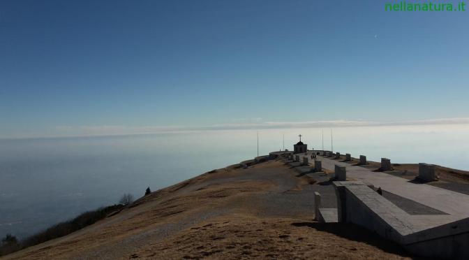 Monte Grappa: l'inverno ti sorprende