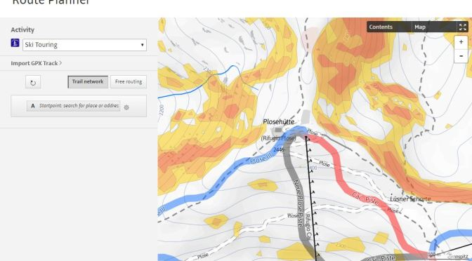 Outdooractive: un aiuto fondamentale dalle mappe invernali